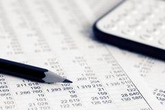 analys graphs marknadsmaterielet royaltyfria bilder