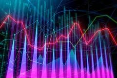Analys och statistikbegrepp vektor illustrationer