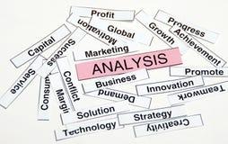 Analyse Stockfotos