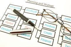 Analyse business data Stock Photos
