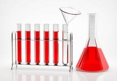 Analyse chimique Image libre de droits