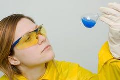 Analyse chimique Photographie stock libre de droits