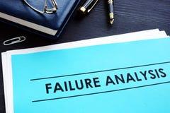 Analyse d'échec RCA - Analyse de cause première photos stock
