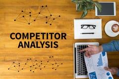 Analyse de concurrent images libres de droits
