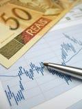Analyse de marché boursier Image libre de droits