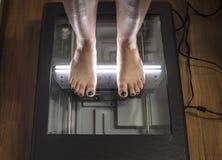 Analyse de posture et d'équilibre Photos libres de droits