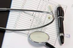 Analyse de sang d'émissions de santé Photos libres de droits