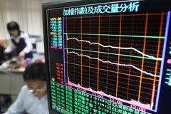 Analyse der Börse Lizenzfreies Stockbild