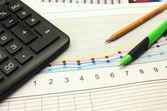 Analyse des Geschäfts Lizenzfreies Stockfoto
