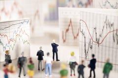 Analyse des marchés Image libre de droits