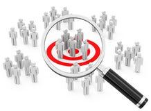 Analyse du marché et du consommateur Photos stock