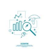 Analyse en Financieel Beheer Royalty-vrije Stock Fotografie