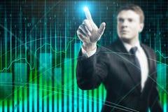 Analyse en voorraadconcept stock foto's