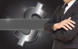 Analyse financière d'affaires Image libre de droits