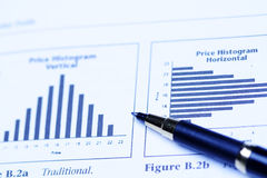 Analyse financière d'investissement Images stock