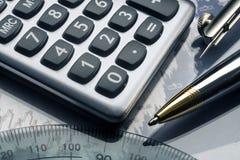 Analyse financière d'investissement courante Image libre de droits