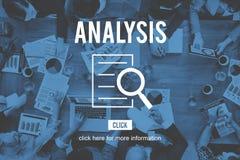 Analyse-Forschungs-Untersuchungs-Entdeckungs-Konzept stockfotos
