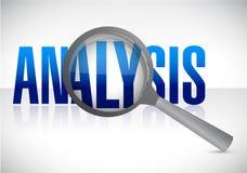 Analyse onder onderzoek Royalty-vrije Stock Foto