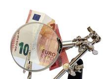 Analyse van Europese rekeningen royalty-vrije stock foto