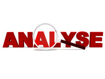 Analyse Word Shows Analytics Analysis Or Analyzing Royalty Free Stock Images