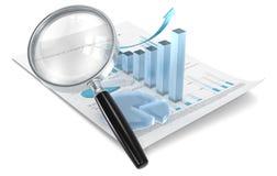 Analyseer. royalty-vrije illustratie