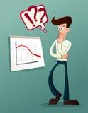 Analyseer bedrijfsresultaat vector illustratie