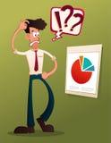 Analyseer bedrijfsresultaat stock illustratie