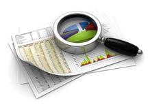 analysering av affär Arkivfoton