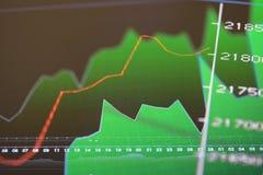 Analyses des marchés Photographie stock