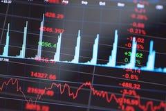 Analyses des marchés Photo stock