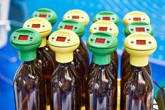 Analyseur biologique de consommation de l'oxygène photo stock