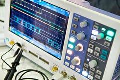 Analyseur de spectre Photo stock