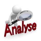 analysez illustration stock