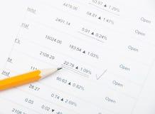 Analysieren auf Lager Lizenzfreie Stockfotos
