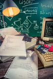 Analysieren des Schulprogrammiercodes Lizenzfreie Stockfotos