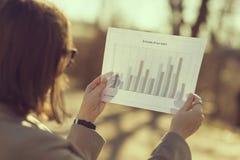 Analysieren von Daten Stockfotos