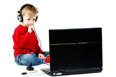 Analysing Music Royalty Free Stock Images