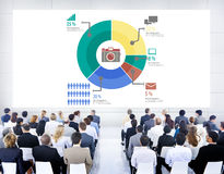 Analysis Analytic Marketing Sharing Graph Diagram Concept Royalty Free Stock Photo