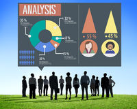 Analysis Analytic Marketing Sharing Graph Diagram Concept Stock Photos