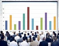 Analysis Analytics Bar graph Data Information Concept Stock Image