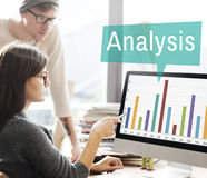 Analysis Analytics Graph Growth Statistics Concept Stock Image