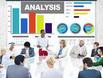 Analysis analyzing information bar graph data statisitc concept royalty free stock image