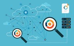 Analysis Big Data. Analytics Royalty Free Stock Photography