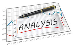 Analysis concept Stock Photos