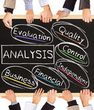ANALYSIS concept words Stock Image