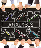 ANALYSIS concept words Royalty Free Stock Photo