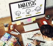 Analysis Creative Thinking Brainstorm People Concept stock photo