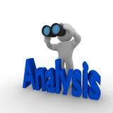 Analysis Stock Image