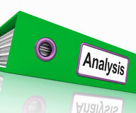 Analysis File Contains Data And Analyzing Documents vector illustration