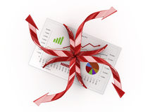 Analysis. Graphics isolated 3d financial analysis Royalty Free Stock Image